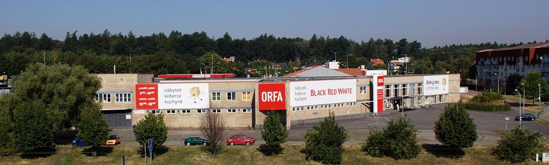 Prodejna ORFA nábytek Ostrava Dubina