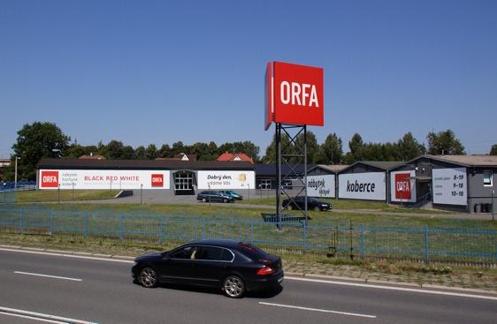 Orfa nábytek prodejna Orlová