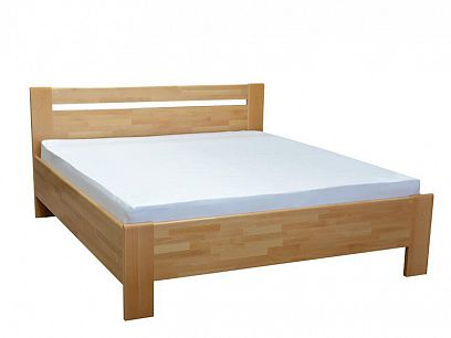 Matěj Lux Masivní postel 180 cm, buk