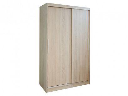 DOMINGO šatní skříň 120, dub sonoma