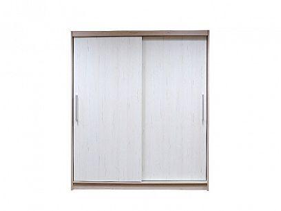 DOMINGO šatní skříň 180, dub nelson/pino aurelio bílá