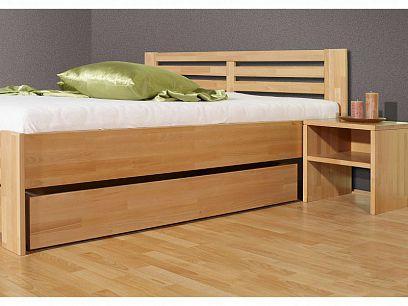 MART Šuplík pod postel, masiv buk