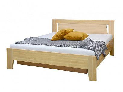Angelika 2 manželská postel 160 s ÚP a rošty, buk