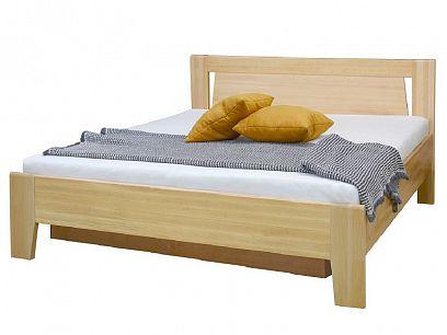 Angelika 2 manželská postel 180 s ÚP a rošty, buk