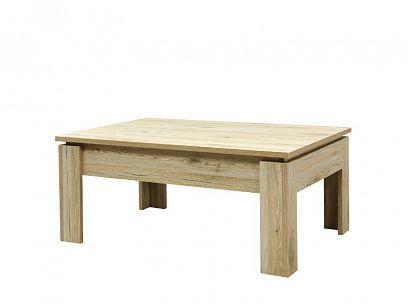 TEDDY konferenční stolek, obdélník, dub riviéra