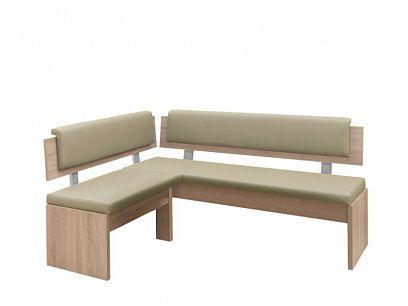 VENEZUELA rohová lavice UNI, dub sonoma/béžová