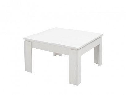 TEDDY konferenční stolek, čtverec, bílá