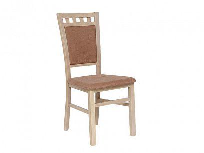 DENIS NEW jídelní židle, dub sonoma/hnědá