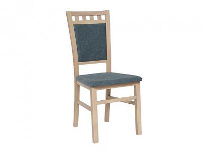DENIS NEW jídelní židle, dub sonoma/šedá