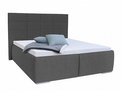 ENIGMA čalouněná postel 180, šedá