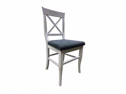 PROVENSAL 7 jídelní židle, bílá/tmavě šedá
