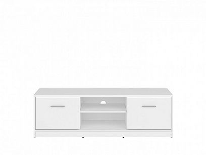 Nepo Plus Televizní stolek RTV2D Bílý