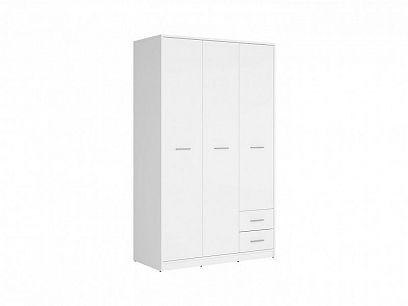 Nepo Plus Šatní skříň SZF3D2S Bílá