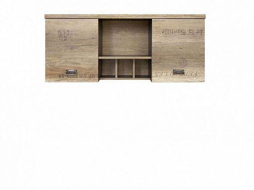 Malcolm Závěsná skříňka SFW2D Dub canyon monument/Šedý wolfram