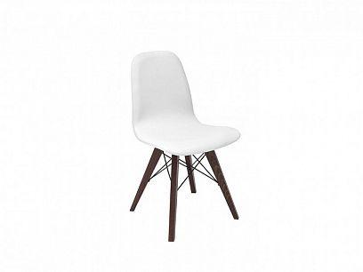 ULTRA  jídelní židle TX1089, bílá/dub wenge