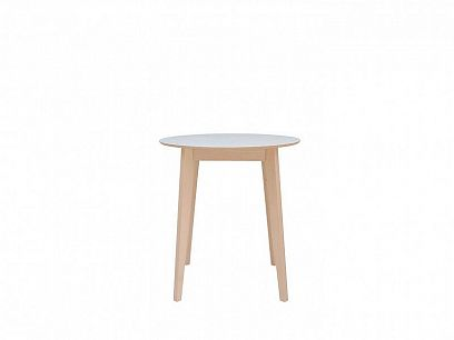 IKKA jídelní stůl, dub sonoma/bílá