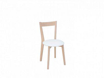 IKKA Jídelní židle, bílá/dub sonoma