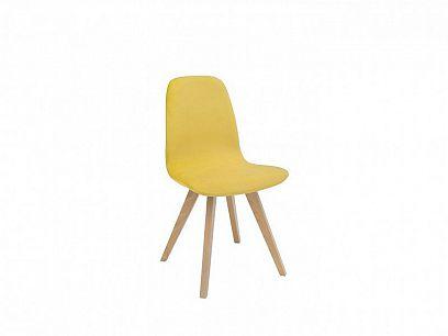 ULTRA II jídelní židle TX069, dub sonoma/TK Amore 28 yellow