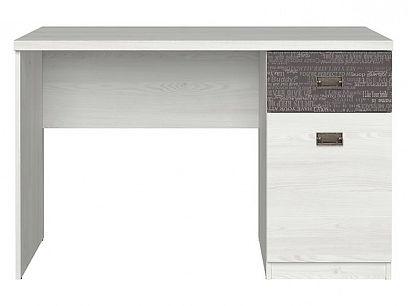 NAMUR psací stůl BIU1D1S, modřín sibiu světlý/sentences šedá