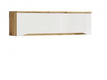 NUIS závěsná skříňka SFW1K/135 dub wotan/bílý lesk