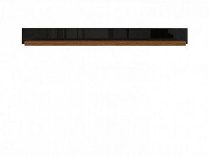 Arosa police POL/150, dub braz/černý lesk