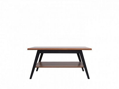 MADISON konferenční stolek LAWA, černá/dub braz