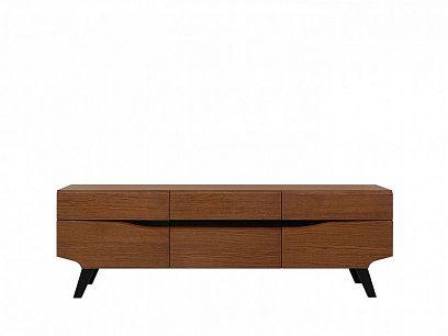 MADISON televizní stolek RV2D2S, dub braz
