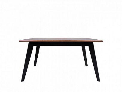 MADISON jídelní stůl černá/dub braz