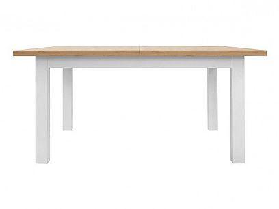 ERLA  jídelní stůl bílá/dub minerva