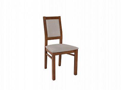 PAELA jídelní židle, dub april/Enjoy silver 20