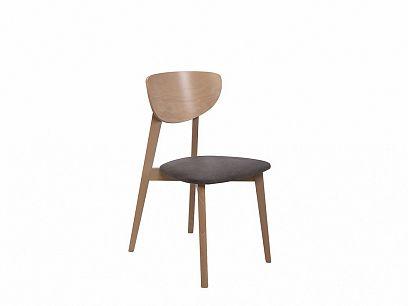 FARIO jídelní židle, dub sonoma/šedá