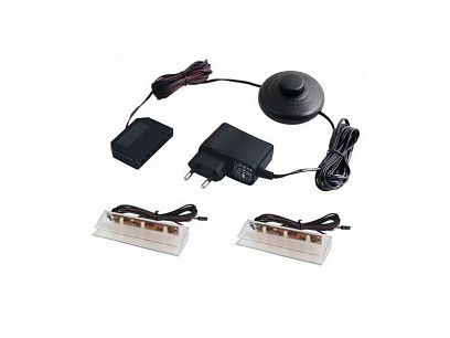 LED osvětlení ASSEN k polici a vitrínám
