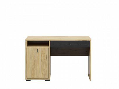 RODES psací stůl BIU1D1S, jasan běloruský/dub černý