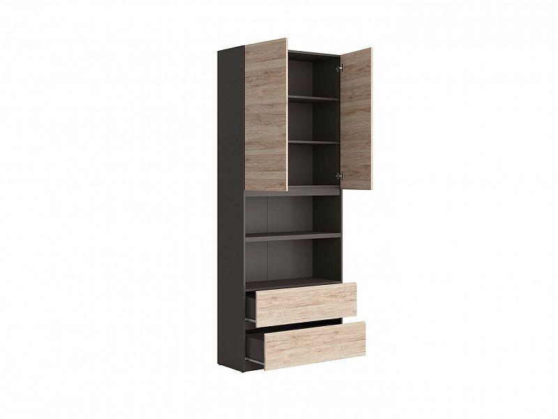 modern reg l moden brw reg2d2s 90 ed wolfram dub san remo sv tl orfa n bytek. Black Bedroom Furniture Sets. Home Design Ideas