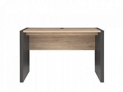 Executive Psací stůl BIU/120 Šedý wolfram/Dub San Remo světlý