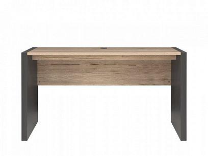 Executive Psací stůl BIU/160 Šedý wolfram/Dub San Remo světlý