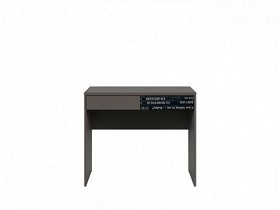 Graphic II Psací stůl BIU2S/C šedý wolfram/černá s potiskem