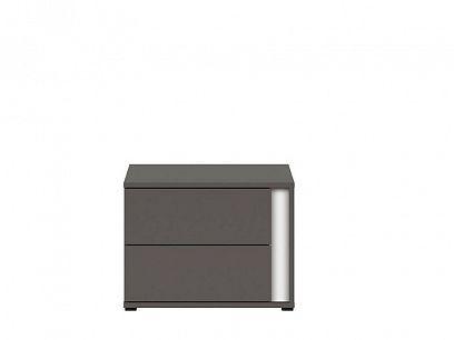 Graphic II Noční stolek KOM2SL/C šedý wolfram
