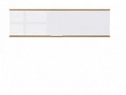 Zele Závěsná skříňka SFW1K, dub wotan/bílý lesk