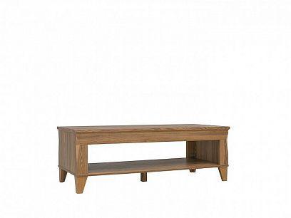 Bergen Konferenční stolek LAW/130, modřín sibiu zlatý