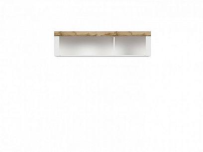 HOLTEN  Závěsná skříňka SFW/156, dub wotan/bílý lesk
