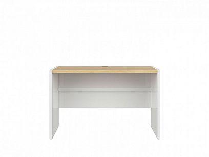 PRINCETON  psací stůl BIU/120 bílý lesk/dub polský