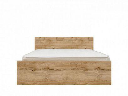ZELE postel LOZ/160 , dub wotan