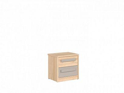 NAMEK noční stolek KOM2S buk iconic/šedá