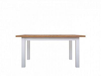 HOLTEN STO jídelní stůl rozkládací, dub woltan/bílá mat