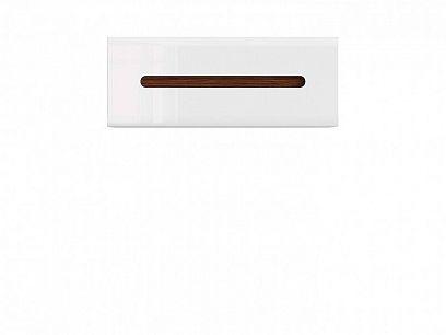 AZTECA TRIO Závěsná skříňka SFW1K/4/11, bílá/bílá lesk