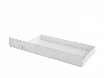 HOLTEN šuplík pod postel SZU bílá/bílý lesk