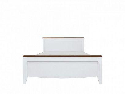 KALIO Postel LOZ/160, bílý lesk/akát zlatý/bílý lesk