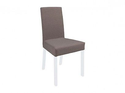 KASPIAN jídelní židle VKRM 2 bílá/šedohnědá