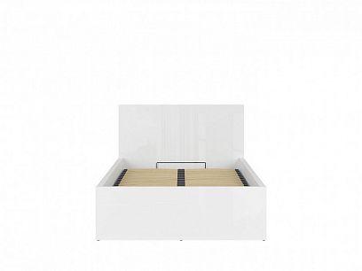TETRIX postel s roštem LOZ/120/B, bílý lesk